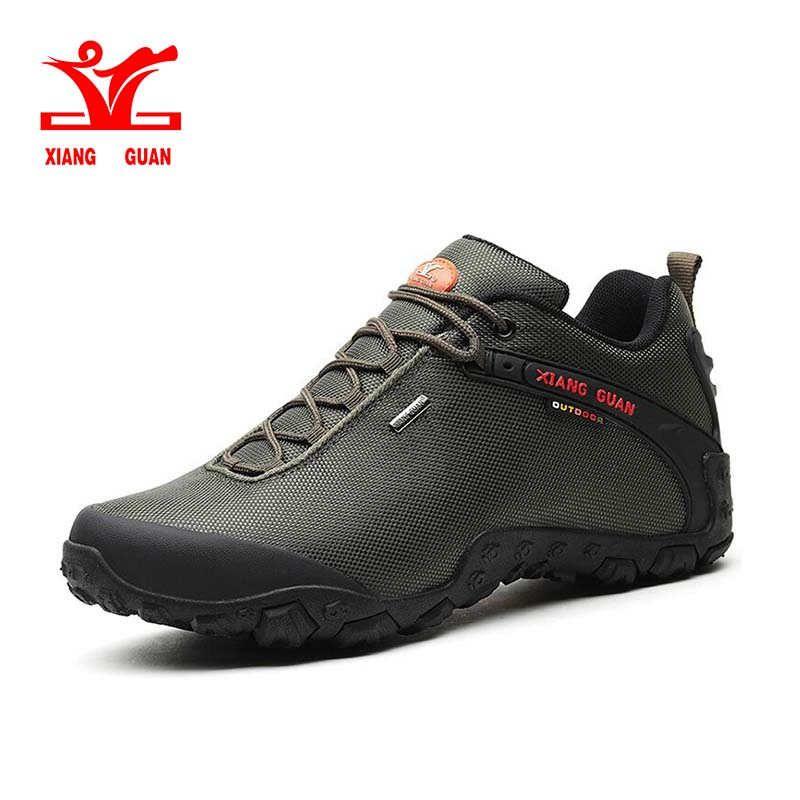 XIANG GUAN Mann Outdoor Wandern Schuhe angeln Athletisch Trekking Stiefel Frauen Klettern Wandern Sneskers große GRÖßE EUR 36-48