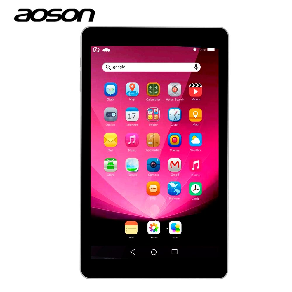 16GB tablet Aoson R102 10.1 inch android 6.0 tablets IPS 1280*800 Quad Core Dual Cameras Bluetooth 4.0 GPS WIFI game tablet 10