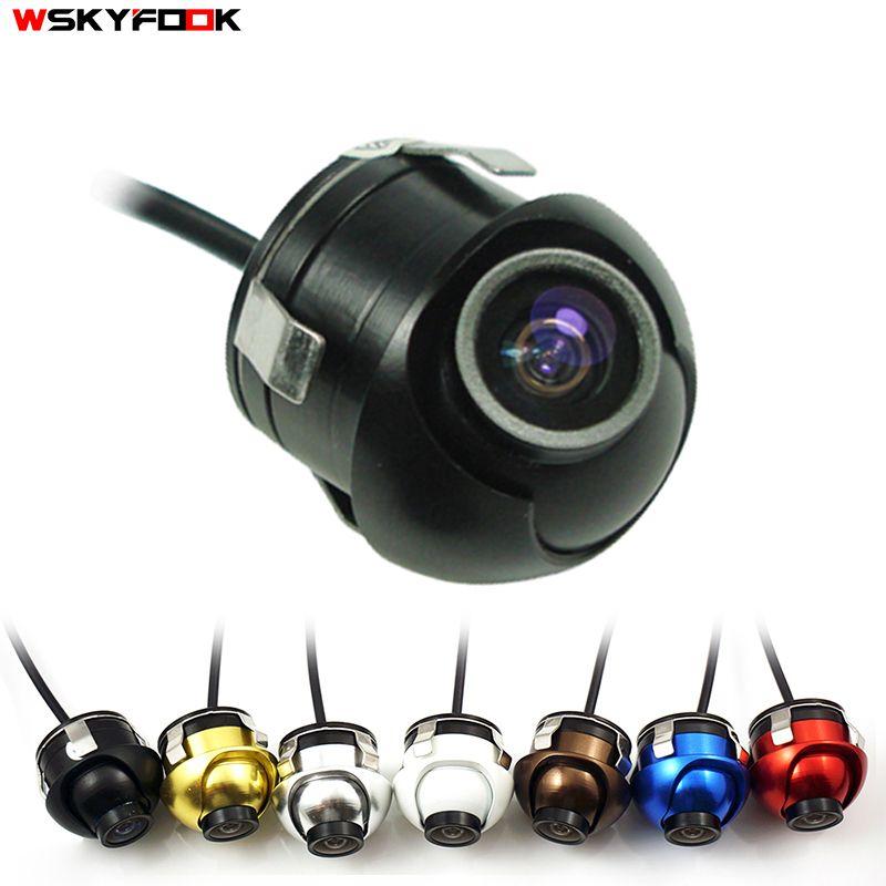 CCD HD vision nocturne voiture caméra avant/latéral/gauche/droite/caméra de recul 360 degrés Rotation universel voiture caméra de recul