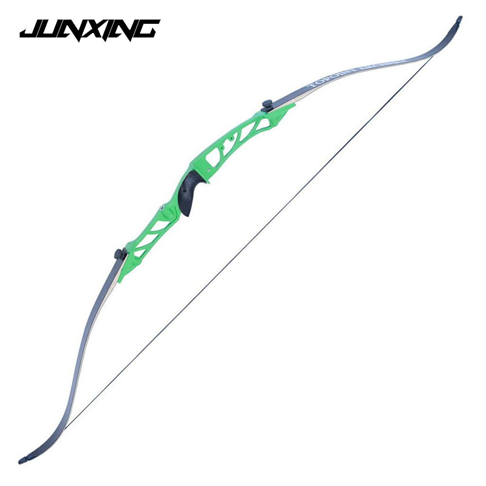 7 Colors 68 Inches Vertex Recurve Bow 18-38 Lbs Aluminum Alloy Bow Handle for Outdoor Archery Hunting Shooting