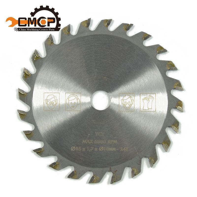 85mm 24 Teeth TCT Circular Saw Blade Wheel Discs For Wood Cutting