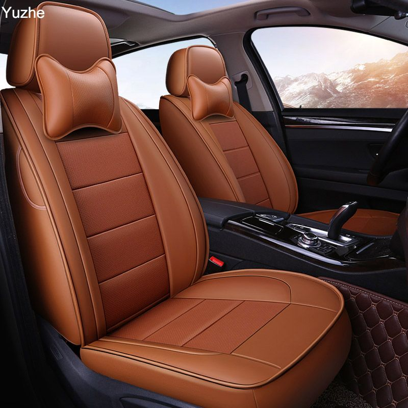 Auto Wind Auto autos rindsleder auto sitzbezug Für Volvo S60L V40 V60 S60 XC60 XC90 C70 auto zubehör styling