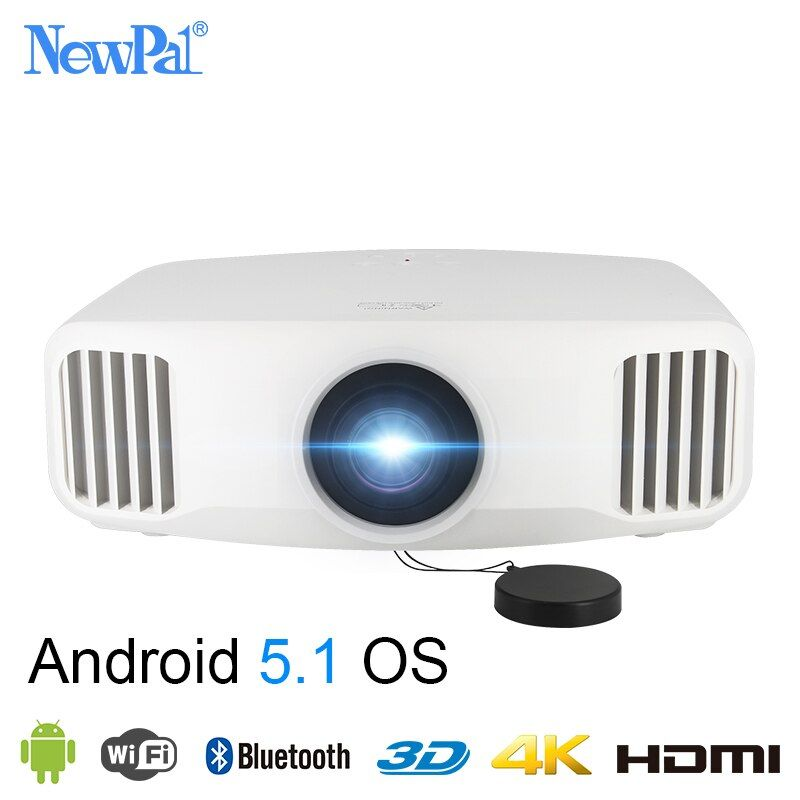 Newpal X8000 DLP Projektor 3300 Lumen Full HD Android WIFI Home Business Projektor 3LCD Home Cinema Beamer Proyector