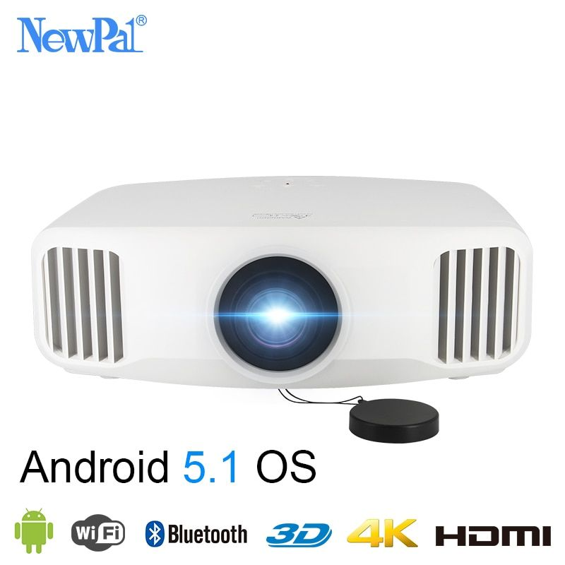 Newpal X8000 DLP Projector 3300Lumens Full HD Android WIFI Home Business Projector 3LCD Home Cinema Beamer Proyector