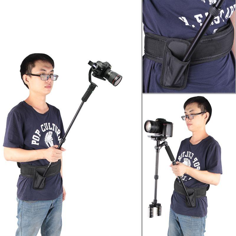Accessoires portables universels de bâti d'épaule de ceinture de tige de Support de plate-forme de DSLR pour la caméra de caméscope vidéo DV/DSLR réduisant le Stress