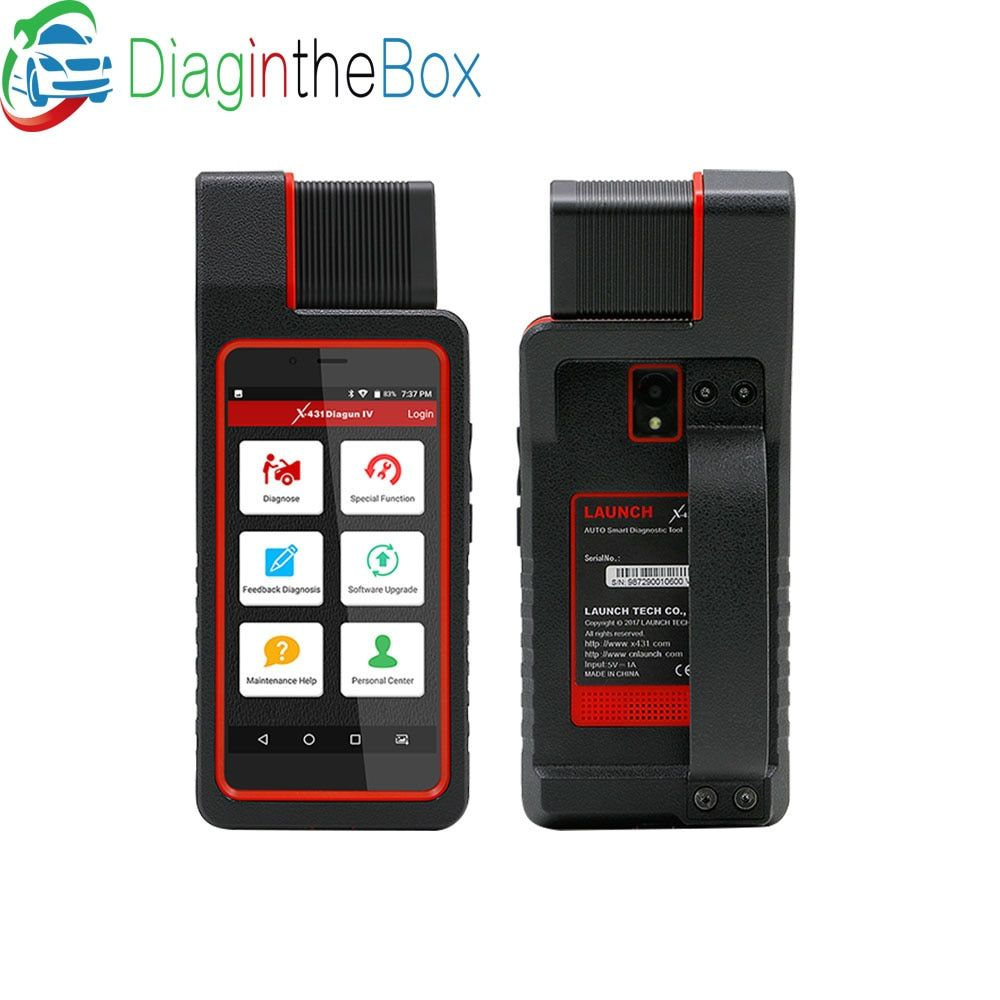 LAUNCH X431 Diagun IV Full System diagnostic-tool Support Bluetooth Wifi X-431 Diagun IV OBD2 Scanner with 1 years free update