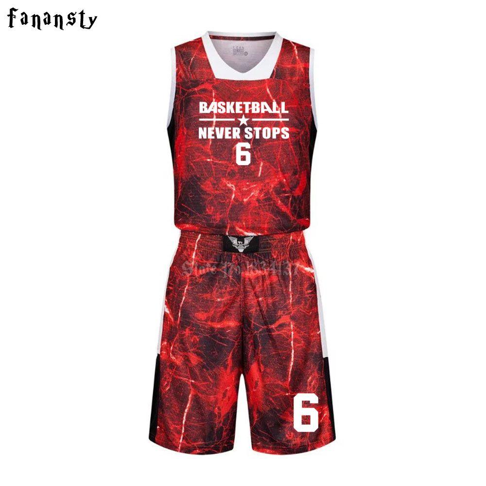 Высокое качество Баскетбол Майки Обувь для мальчиков дышащий пользовательские Баскетбол Униформа Дешевые колледж Баскетбол костюмы DIY ком...