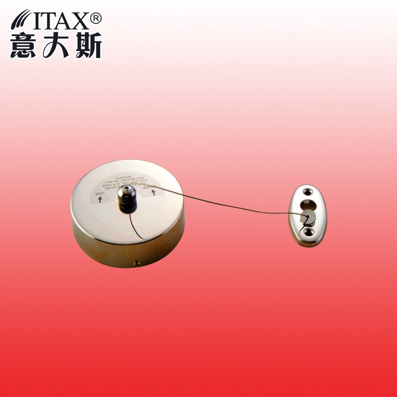 ITAS2211 Factory direct sales telescopic clothes rope 304 stainless steel wire rope hanging balcony Hotel clothes dryer
