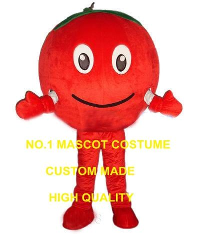 cool red tomato mascot costume adult size cartoon vegetables theme anime cosplay costumes carnival fancy dress kits 2545