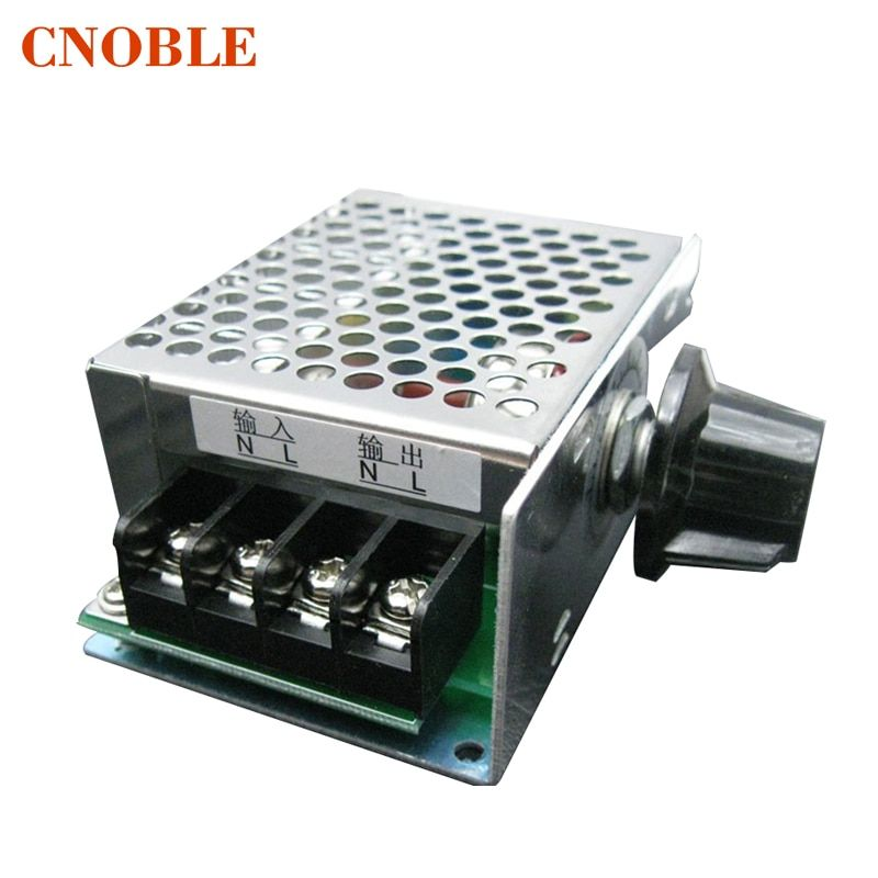 With fuse 10-220V 4000W SCR high-power electronic voltage regulator Module Speed dimming speed control temperature control modul