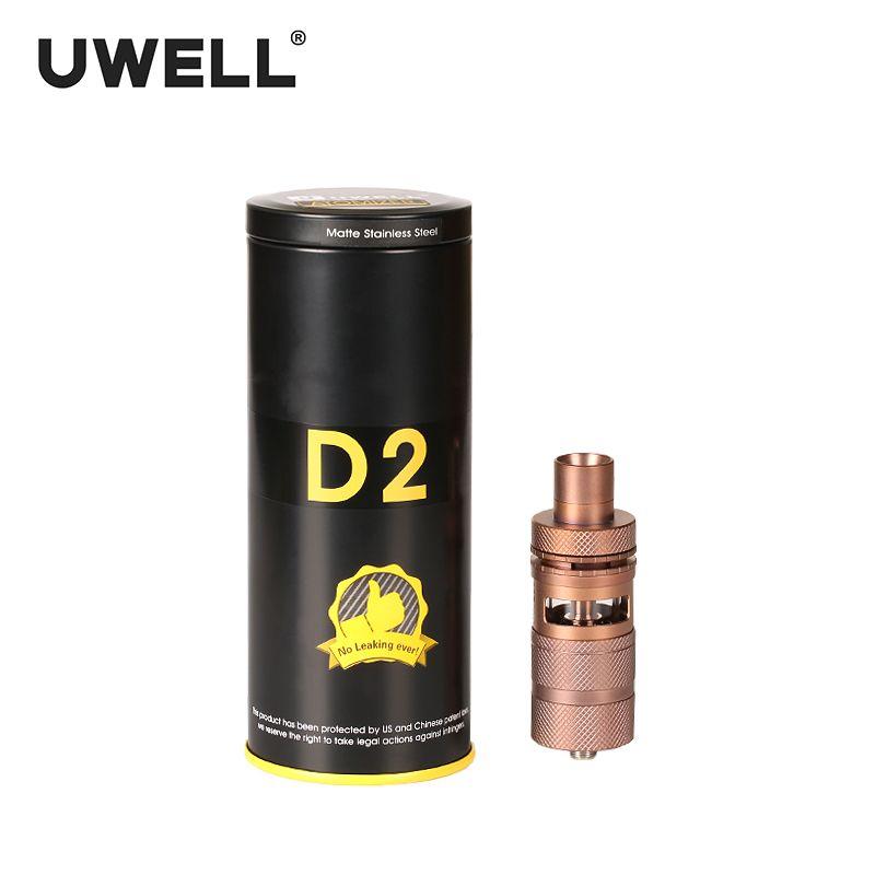 UWELL D2 RTA 4 ml Top Abfüllmethode Atomizer Einstellbare Airflow 510 Gewinde Typ