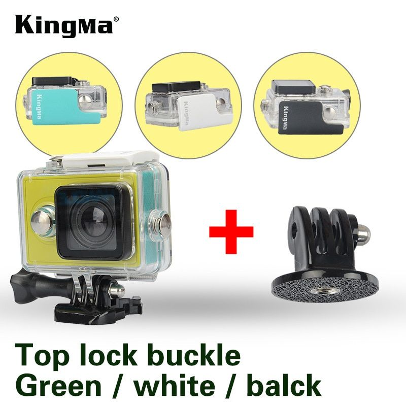 KingMa 45m Diving Waterproof Case Diving Sports Waterproof Housing Action Camera Accessories For Xiaomi Yi 1 Action Camera