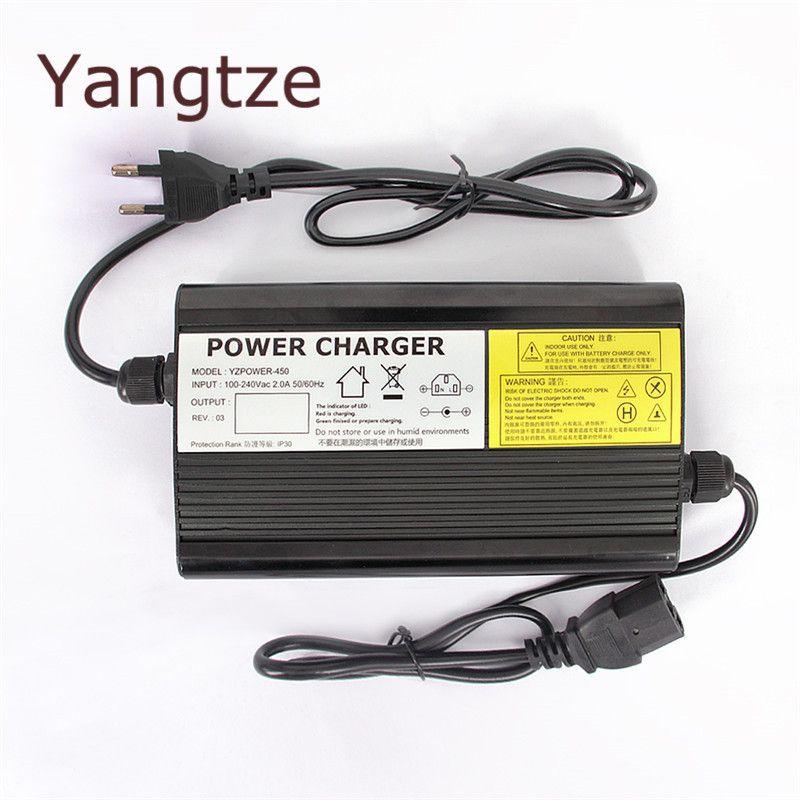 Yangtze Lithium Lifepo4 Battery Charger 87.6V 3.5A 3A 2.5A Charger 72V (76.8V) For Car Battery Smart Charger Carregador AA