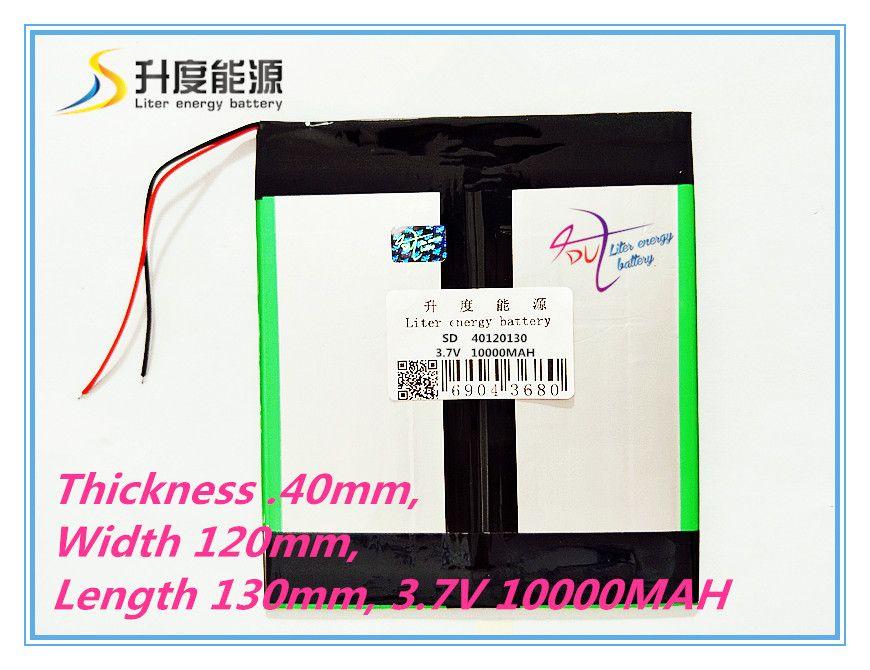 3,7 V 10000 mAH 40120130 (reale Kapazität) li-ion akku Batteriezelle für 9,7