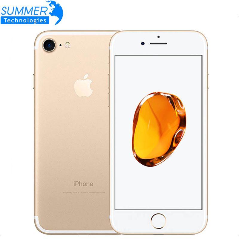 Original Apple iPhone 7 Quad-Core-handy 12.0MP Kamera IOS LTE 4G Fingerprint Verwendet Smartphone
