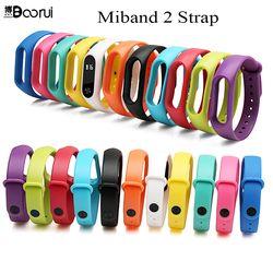 Boorui nuevo mi banda 2 pulsera Correa mi banda 2 Correa silicón colorido del reemplazo correa para xiaomi mi banda 2 smartband