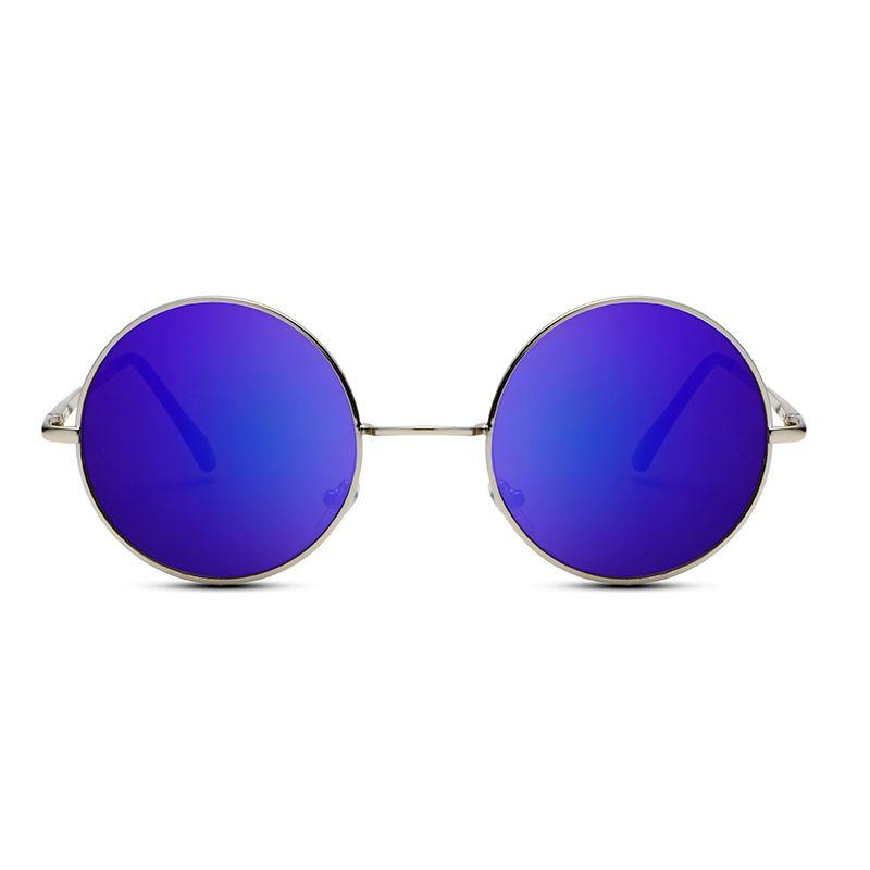 2017 New F0601-F0612 Designer Classic Round Sunglasses WOMen Small Vintage Retro Lennon Glasses men Driving