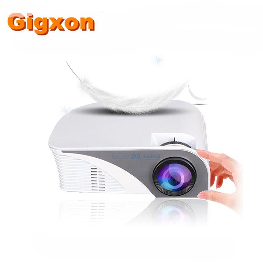 Gigxon-G8005B NEUE mode Produkt mini projektor großen 7d kino projektor 4 karat theater projektoren für Den Heimgebrauch Eaducation