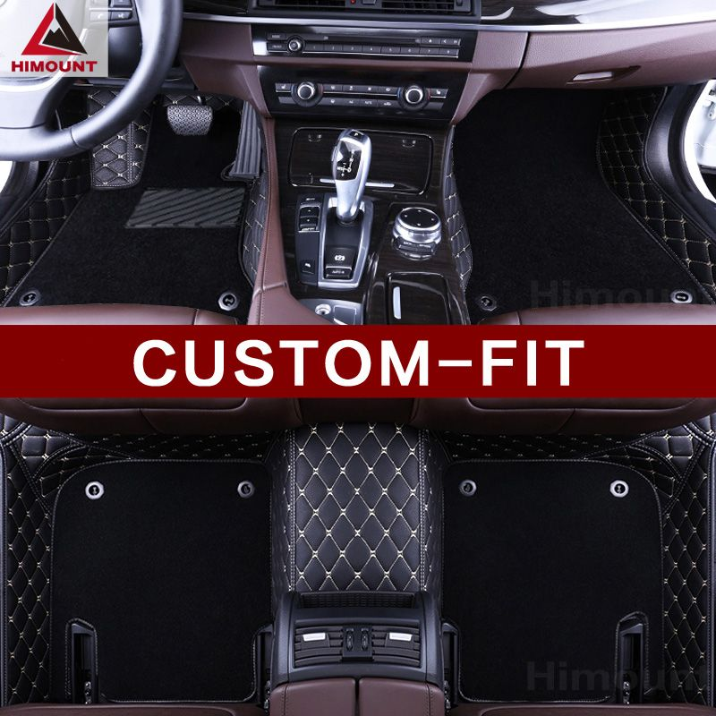 Custom fit car floor mats for Mercedes Benz SLK class R171 R172 high quality luxury 3D car-styling leather carpets rugs liners