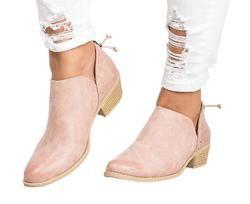 2018 primavera otoño mujeres mariposa-Nudo Chelsea botas Slip-On Med tacones punta estrecha Zapatos mujer