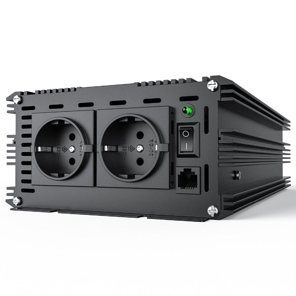 3500 Watt 7000 peak pure Sine wave power Inverter converter DC 24V to AC 220v 230V Soft start