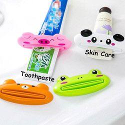 1 шт. креативный милый животный Многофункциональный дозатор зубной пасты соковыжималка гелевый крем для лосьона #707