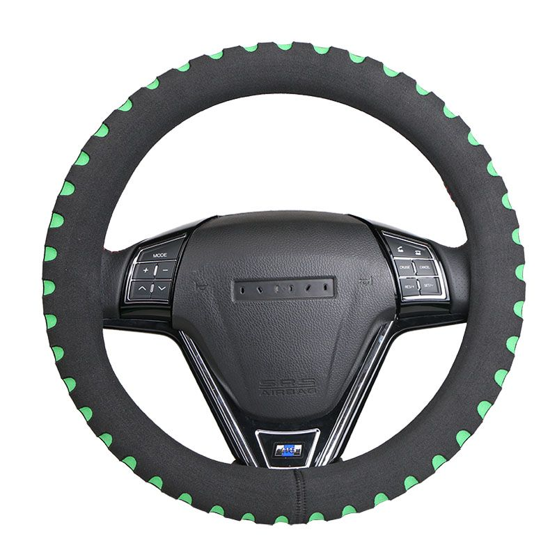Three-dimensional structure Car Steering Wheel Cover Universal/ Non-slip Steering-Wheel Cover Diameter 38cm Automotive