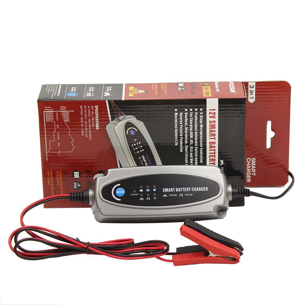 Multi MXS 5.0 12V Car Battery Smart Trickle Charger & FREE INDICATOR 56-382 EU plug