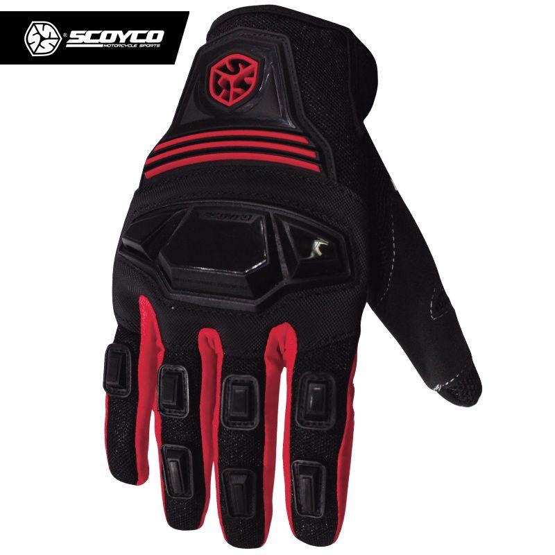SCOYCO Männer Motorrad Handschuhe Atmungswearable Ritter Schutz Handschuhe Sommer Moto Luvas Alpine Motocross Sterne Gants MC24