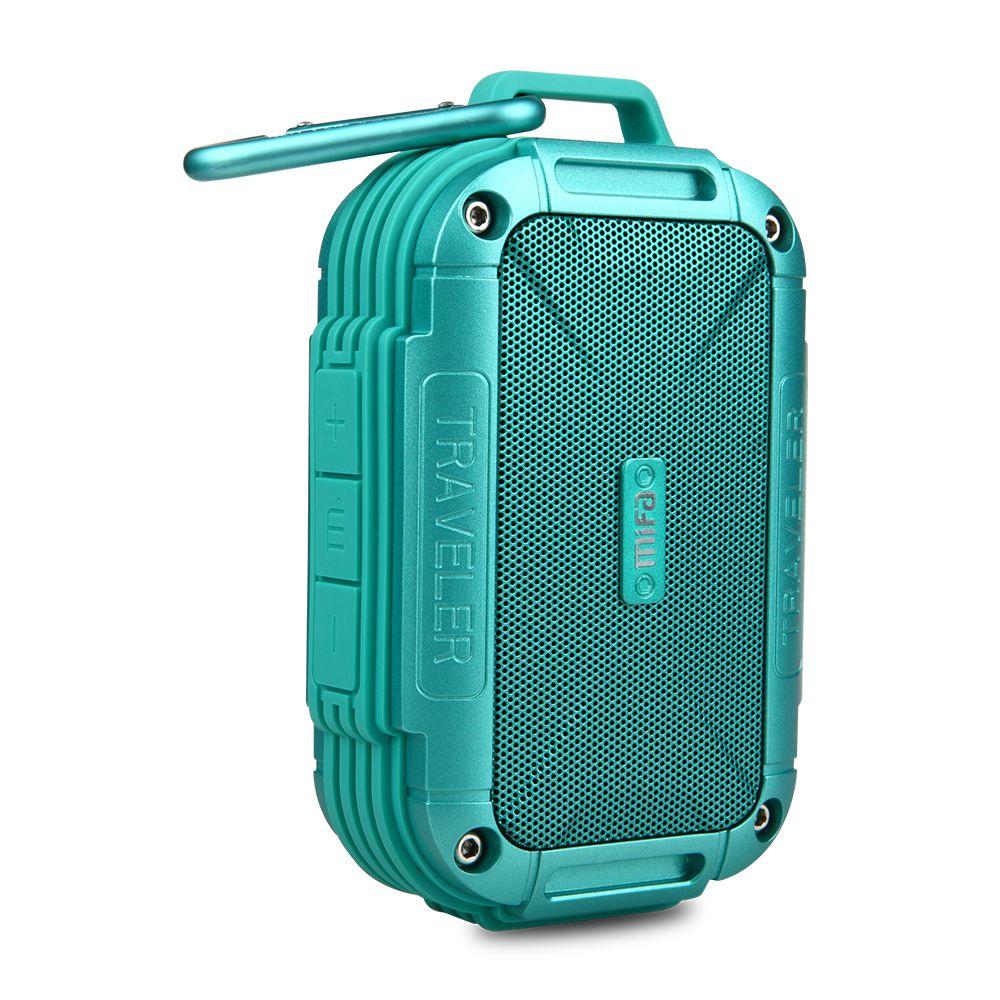 MIFA F7 Bluetooth 4.0 haut-parleur IP56 anti-poussière étanche à l'eau haut-parleur, AUX. Camping haut-parleurs boîtier en métal résistance AUX chocs haut-parleurs