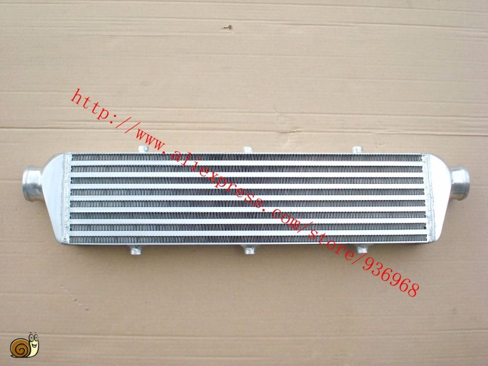 Core size 550x140x65mm In/outlet2.25inch, Universal Type Front Mount/Bar and plate intercooler supplier AAA Turbo