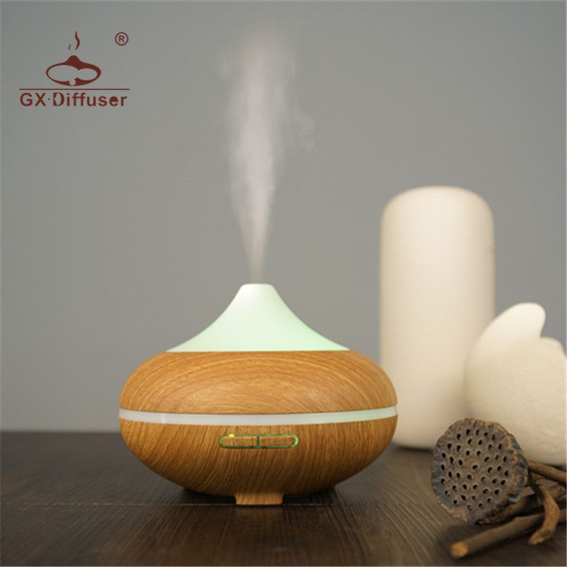 GX.Diffuser 500ML Electric Aroma Diffuser Humidifier Ultrasonic Essential Oil Aromatherapy Aroma Diffusers For Yoga & Bedroom