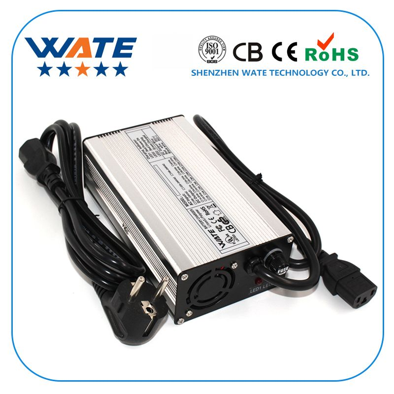 29.4V 8A Charger 24V Li-ion Battery Smart Charger Used for 7S 24V Li-ion Battery aluminum case Robot, electric wheelchair.