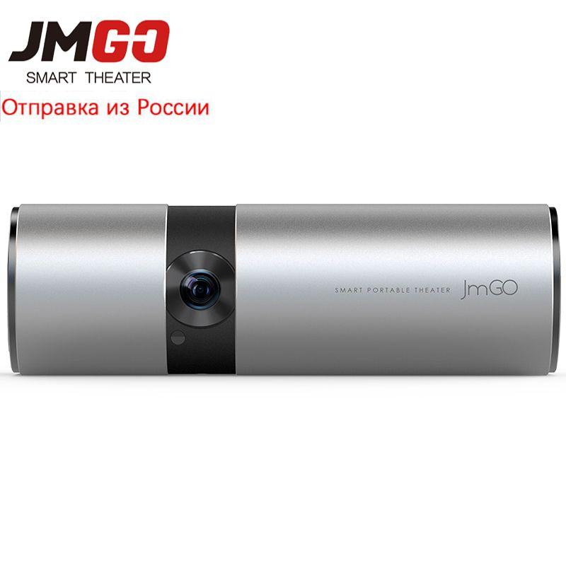 JmGO View jmgo P2 DLP Mini Projector Led Wifi 3D Full HD 1080P Smart Theater 180 inch HiFi Bluetooth Portable Proyector Beamer