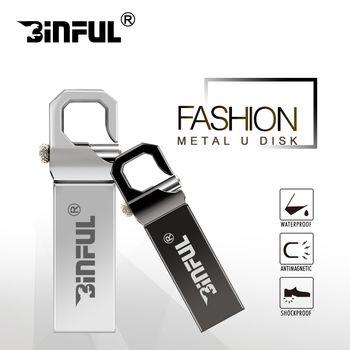 Binful usb flash drive 4GB 8GB 16GB 32GB high speed 64GB pen drive 128GB pendrive USB2.0 memory stick gift