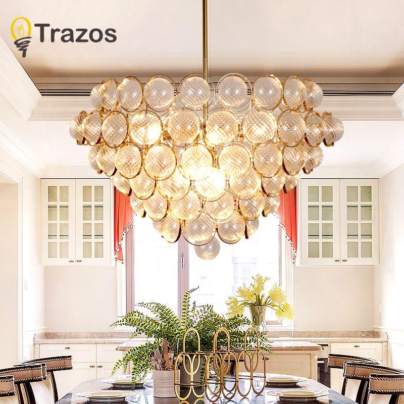 Modern K9 Crystal Chandelier lighting Luxury Clear Glass Chandeliers Lamp Hanging Light Lustres De Cristal Lamp Hotel Lighting