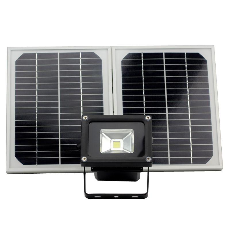 Solaire Lumière Solaire D'inondation Jardin Pelouse Paysage Lampe Outerdoor Intérieur avec pile Lithium Ip65 étanche