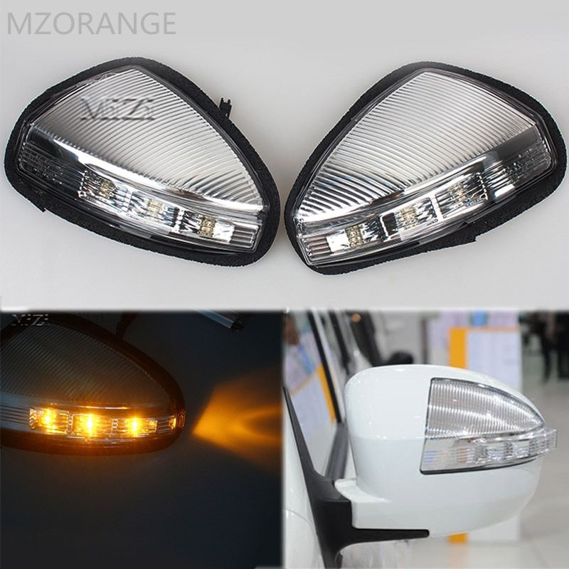 MZORANGE 1/2 Piece Rearview Mirror Turn Signal Light Side Lamp/For LIFAN X60 Steering Lamp Indicator Car styling Left / Right