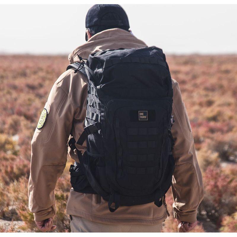 OneTigris Taktische ERIE ROVER 50L PACK MOLLE 50L Rucksack Assault Tasche für Camping Wandern Jagd Reisen