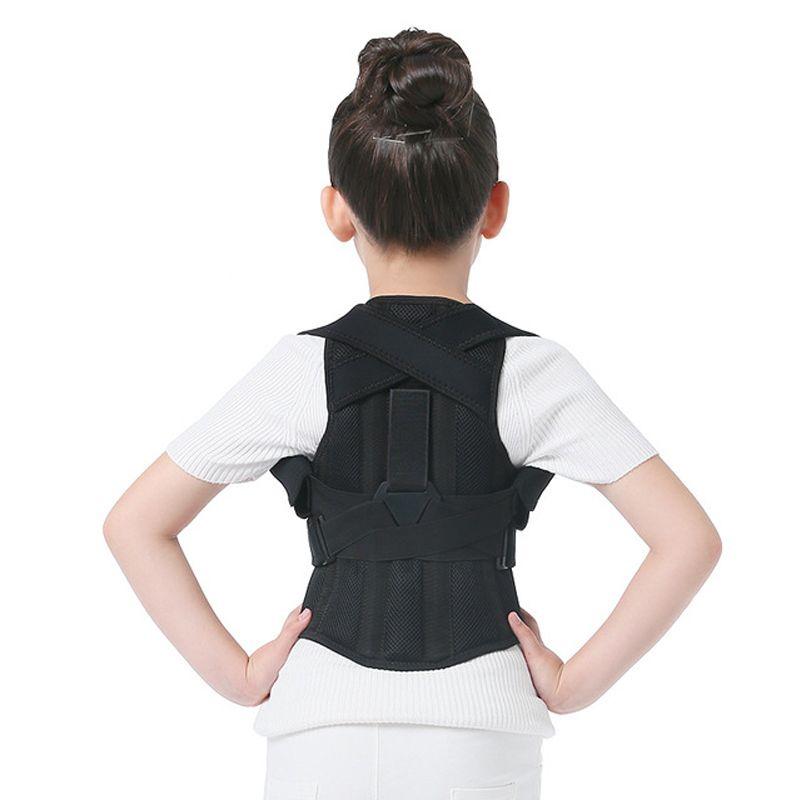 JORZILANO Profesional Enfants Réglable Retour Poitrine ceinture de soutien correcteur de posture Thérapie orthèse d'épaule Corriger bossu