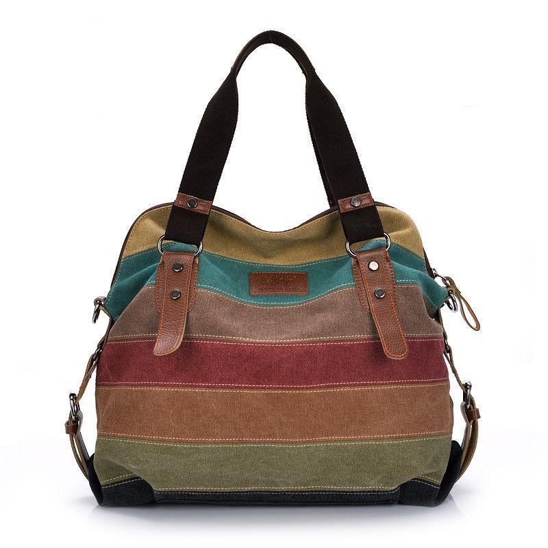 Toile femmes Messenger sacs haute qualité femmes sacs à bandoulière sacs à main femmes célèbres marques sac à bandoulière Bolsos Mujer