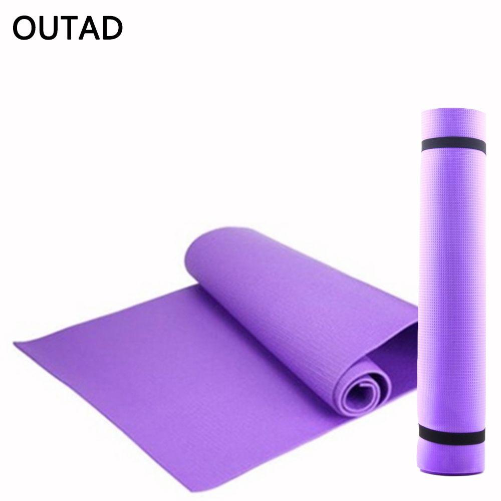 EVA Schaum Yoga Matte Frauen Faltbare Sport Gesunde Gym Fitness Pad Dame Nicht-skid Boden Spielen Pilates Matte Übung werkzeug 173*60*0,6 cm