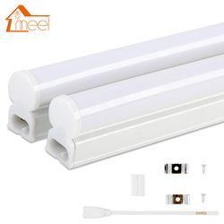 Светодиодный трубки T5 лампы 220 V 230 V 240 V ПВХ Пластик люминесцентная лампа 30 см 60 см 6 W 10 W светодиодный настенный светильник Теплый Холодный бе...