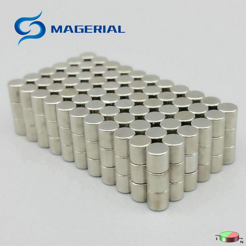 1 pack N42H NdFeB Magnet Micro Disc Diamwter 4x4 mm 0.16