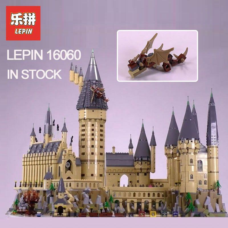 2018 Lepin 16060 Harry Magie Potter Hogwarts Castle Kompatibel Legoing 71043 Bausteine Ziegel Kinder Pädagogisches Spielzeug DIY
