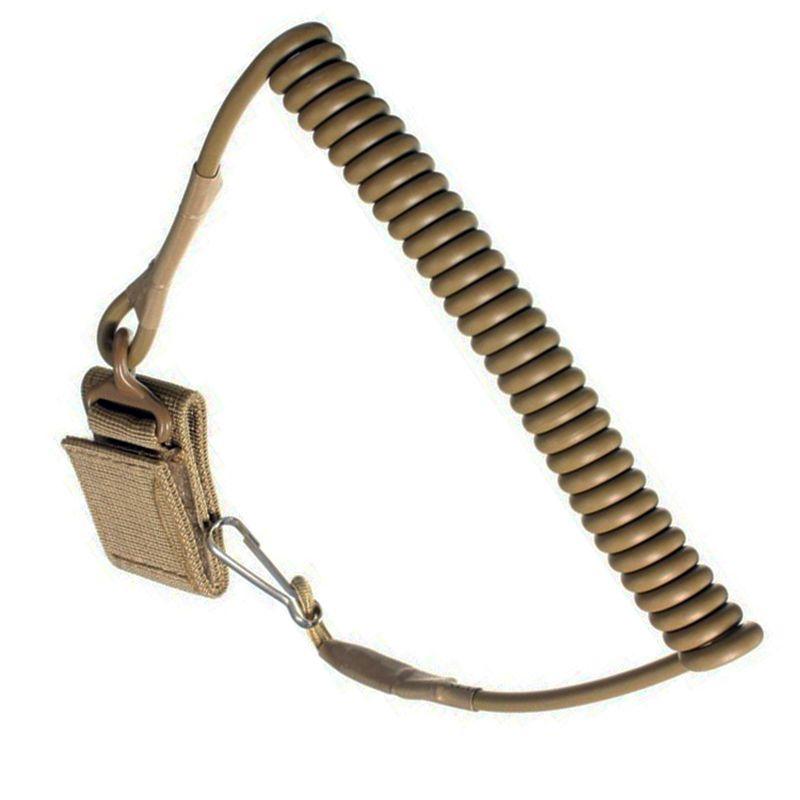 Airsoft Tactical Single Point Pistole Pistole Frühling Schlüsselband Sling Schnellverschluss Schießen Jagd Band Army Combat Gear