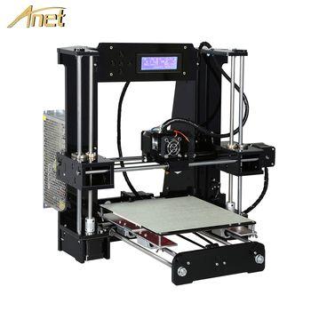 Анет A8 A6 Auto Level A8 A6 3D-принтеры Высокоточный экструдер Reprap Prusa i3 3D-принтеры комплект DIY Impresora 3d с PLA нити