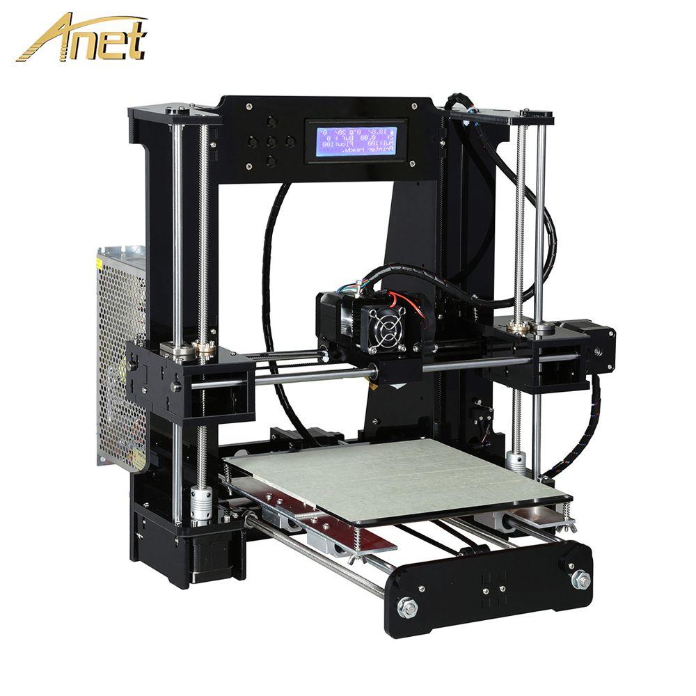 Anet A8 A6 niveau automatique A8 A6 imprimante 3d haute précision extrudeuse Reprap Prusa i3 3D imprimante Kit bricolage Impresora 3d avec Filament PLA