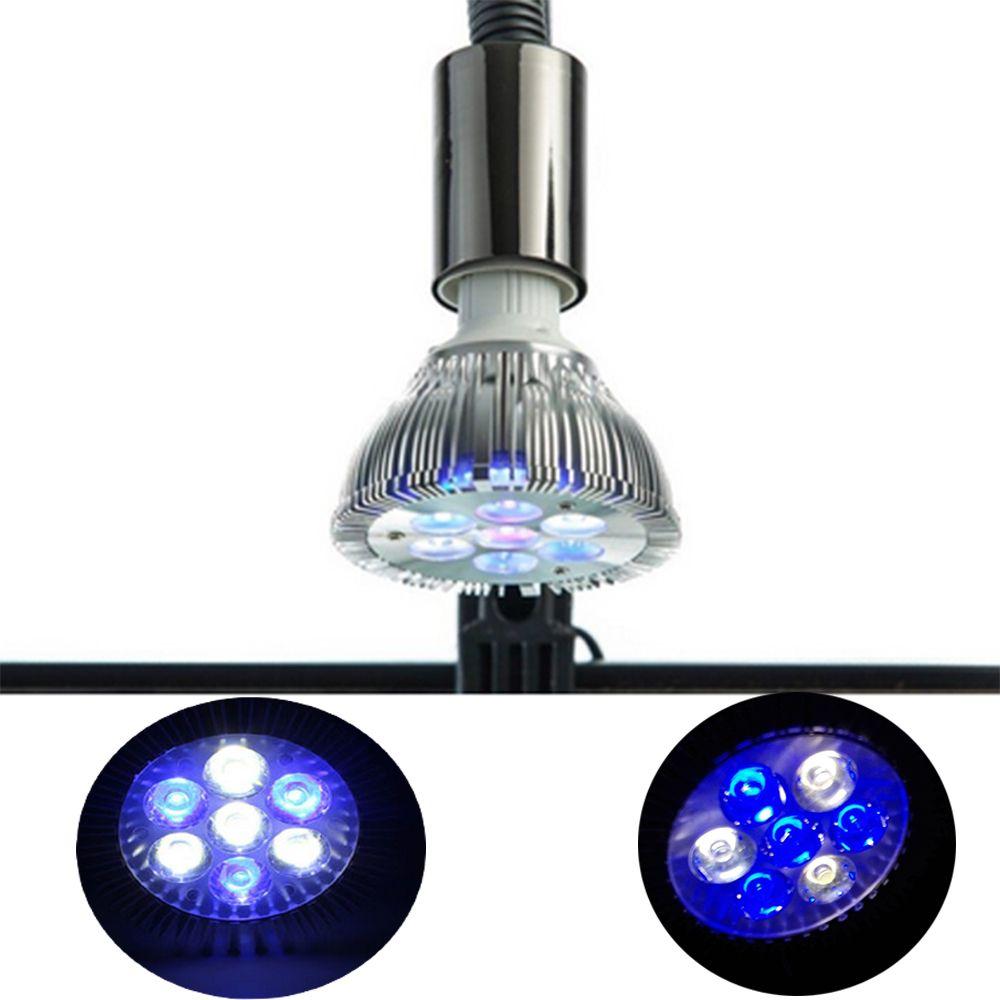 21 W Plein Spectre LED Aquarium Lumière Par30 Corail Récif Utilisé LED Aquarium Lumière E27 LED Usine Élèvent des Lumières pour l'eau salée Récif Réservoirs