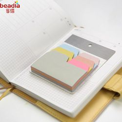 6 colores 90 Sábanas escritura nota índice notas pegajosas del papel papelería oficina accesorios